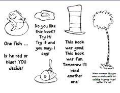 Dr Seuss Printable Bookmark #10 of 20 | Dr. Seuss | Pinterest ...