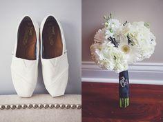 Love this bridal Tom's!