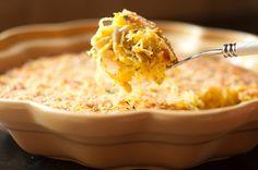 Easy spag squash casserole