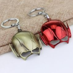 DC Comics The Flash Mask Keychain - The Cynical Clique - 2