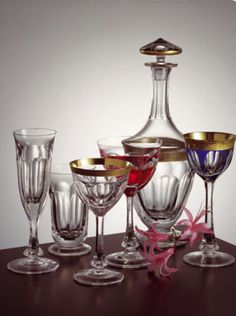 Moser Crystal Glass | Moser Glass Lady Hamilton Fit for Kings, Queens, Presidents and Prime ...