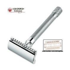 Merkur Model 180 Long Handled Safety Razor: Christmas Gift for Him
