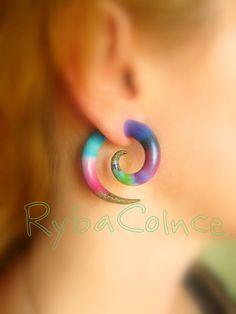 Sold!... To Johanna H!! https://www.etsy.com/listing/154102856/fake-ear-gauge-faux-gaugegauge-earrings