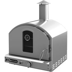 Gasmate Pizza Oven Deluxe Stainless Steel Pizza Oven can be used to cook a variety of food. From the perfect pizza to a beautifully cooked roast dinner...