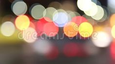 Video about Abstract lights - car traffic at night in blur. Video of design, bokeh, christmas - 78134409