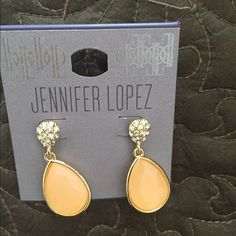 J lo earrings New with tags, stud earrings, fashion jewelry Jennifer Lopez Jewelry Earrings