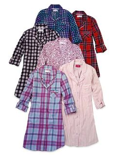 $36.50 - Flannel sleepshirt. Nice girly update to the old enormous one of Matt's that I wear.