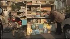 A mobile rickshaw bookshop! Pakistani Bookseller, Shiraz Ahmad, went mobile when the bookstore he ran for 30 years went out of business due to economics.
