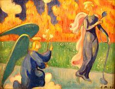 La Anunciación de Emile Bernard
