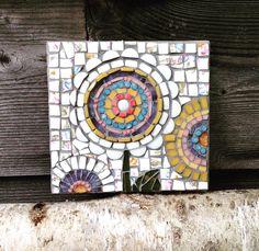 For Lacie #mixedmedia #mosaic #vintage #china #art