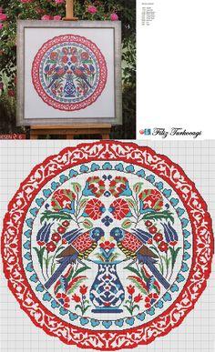 Designed and stitched by Filiz Türkocağı