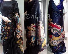 Code:1508161 - Kalamkari In Tussar Silk Price INR:9920/-