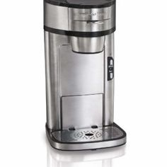 Hamilton Beach Coffee Maker Built In Stand Single Serve Brewer Stainless Steel Espresso Machine Reviews, Coffee Maker Reviews, Best Espresso Machine, Single Cup Coffee Maker, Best Coffee Maker, Single Serve Coffee, Men Coffee, Espresso Coffee, Coffee Lovers