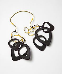 Necklace Dishes (Plantelectrics) nylon iron, 2013