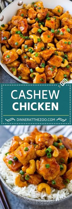 Cashew Chicken Recipe Cashew Chicken Stir Fry Chicken Recipe cashews chicken dinner dinneratthezoo is part of Cashew chicken recipe - Top Recipes, Easy Dinner Recipes, Asian Recipes, Easy Meals, Cooking Recipes, Healthy Recipes, Cashew Recipes, Icing Recipes, Ramen Recipes