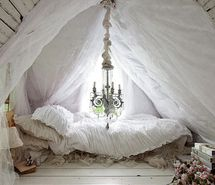 Inspiring picture bed, canopy, chandelier, cottage, decor, fort. Resolution: 500x317 px. Find the picture to your taste!