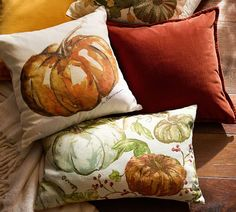 Nothing says autumn like pumpkins. Add our pillow cover to the couch for an instant fall-ready accent.