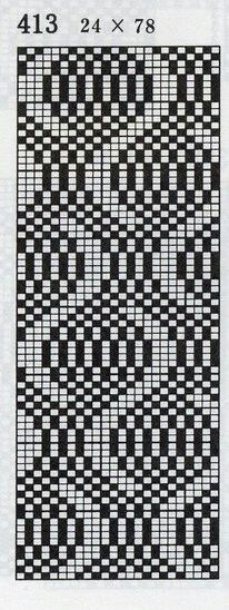 This would work with tvaandstickning Knitting Charts, Knitting Stitches, Knitting Designs, Knitting Projects, Knitting Patterns, Crochet Patterns, Bead Loom Patterns, Weaving Patterns, Cross Stitch Patterns