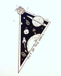 provocative-planet-pics-please.tumblr.com New #geometric design #tattoodesign #geometrictattoo #spacetattoo #planets #spaceshiptattoo #rocket #stars #moon #outofthisworld #youareoutofthisworld #tattooflash #drawing #lovetodraw #tattoo by candyosmith88 https://www.instagram.com/p/BDTcsRgzgxr/