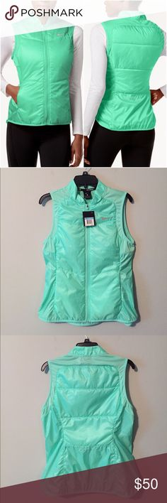 NWT Nike Vest Brand new with tags Women's Nike Polyfill Vest in Mint green color, available in different sizes(select your size below). Bundle to save 10% off ❤ Nike Jackets & Coats Vests