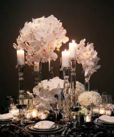 Tablescape ● White & Crystal