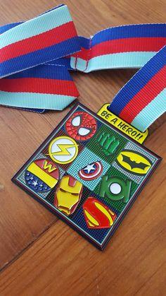 Be a hero virtual race medal Virtual Run, Running Medals, Marathon, Banner, Racing, Hero, Banner Stands, Running, Marathons