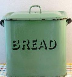 old green bread box - would love to have one