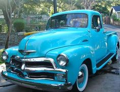 This could almost be our 1954 Chevy truck!