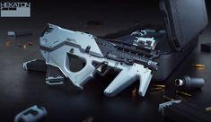 Assualt Rifle, Daniel Joustra on ArtStation at http://www.artstation.com/artwork/assualt-rifle