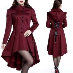Gothic Hooded Coat - New Arrival