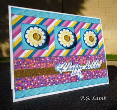 Peachy Paper Crafts Part Deux: February Stamp Of The Month Blog Hop...A Happy Hello