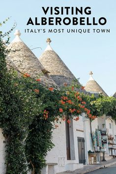 A guide to visiting Alberobello, Puglia, Italy's most unique and picturesque town.  The perfect off-the-beaten-path destination!