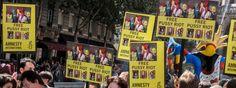 Paris 17 aout, manifestation de soutien à Pussy Riot - © Amnesty International