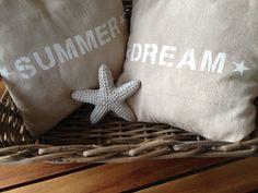 Wohnbrise: Sommer Deko, Kissen, Summer Dream