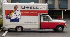Don't rent a truck - uHaul Sucks