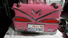 seangarrette: Moschino s/s 2016 Pink Cadillac bag Pink Cadillac, Ss16, Moschino, Cool Designs, Shoulder Bag, Luxury, Bags, Shoes, Collection