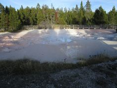 Fountain Paint Pot, Yellowstone (Фонтейн Пейнт Пот. Йеллоустоун)