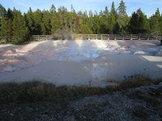 Fountain Paint Pot, Yellowstone (Фонтейн Пейнт Пот. Йеллоустоун)