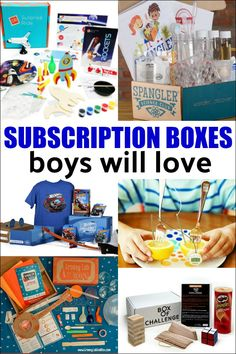 Best Subscription Boxes for Boys - looking for the perfect anytime gift for a boy? There are subscription boxes for every interest. Subscription Boxes For Girls, Subscription Gifts, Non Toy Gifts, Gifts For Kids, Diy Gifts, Birthday Gifts For Boys, Birthday Crafts, Thing 1, Fun Activities For Kids