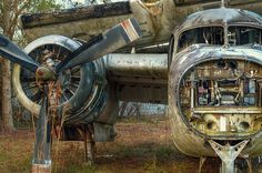 Airplane Graveyard St Augustine FL by The Digital Mirage via Flickr