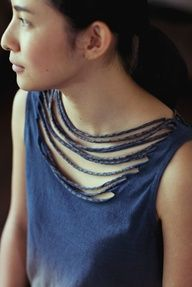 tee neck recycled