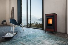 Wonderful Pictures ravelli Pellet Stove Ideas Pellet stoves are the way to economise although comfortable through all those very lazy winter time on home. Decor, Wood, Home Appliances, House, Home, New Homes, Stove, Pellet Stove, Wood Stove
