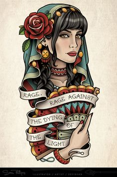 Tattoo Commissions — Sam Phillips