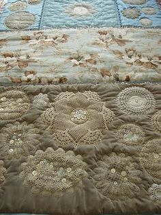 Doily quilt
