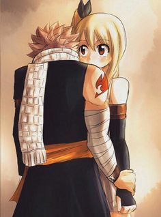 Fairy Tail Nalu (Natsu and Lucy). Fairy Tail Nalu, Fairy Tail Love, Fairy Tail Ships, Arte Fairy Tail, Fairy Tail Amour, Fairy Tail Natsu And Lucy, Fairy Tail Guild, Fanfic Fairy Tail, Fairy Tail Couples