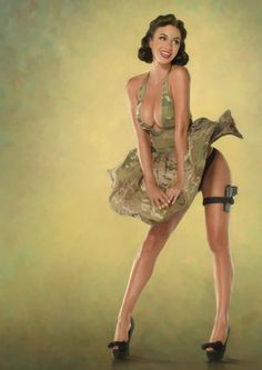 re-pinned by http://thepinuppodcast.com for the love of pinup