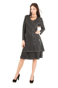 London Grey Dress