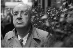 A great (but sadly uncredited) photograph of Vladimir Nabokov from the| Washington Times