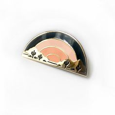 Sundown Enamel Pin from Eradura