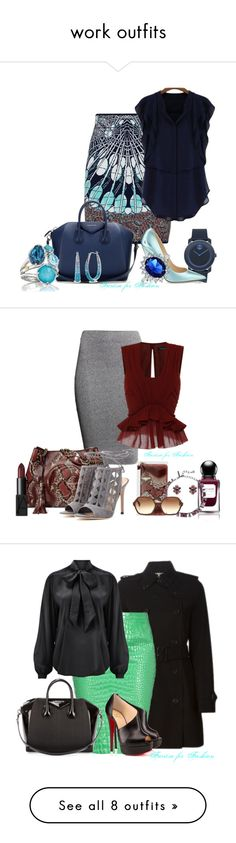 """""""work outfits"""" by faritsaforfashion on Polyvore"""